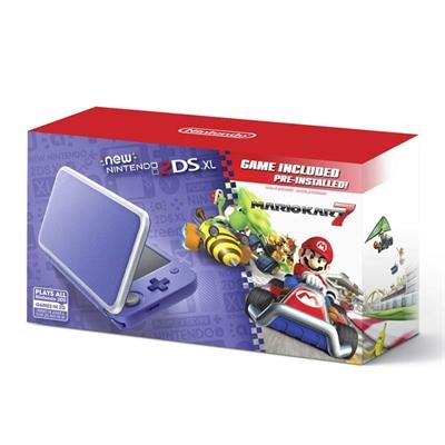 New Nintendo2DS XL PurSlvrMK7