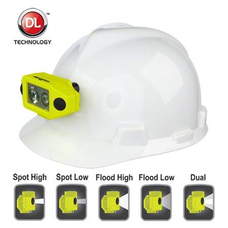 Nightstick  X-Series Intrinsically Safe Headlamp w Hat Clip