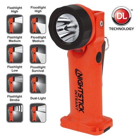 Nightstick Angle Light 3 AA Red 200 Lumens