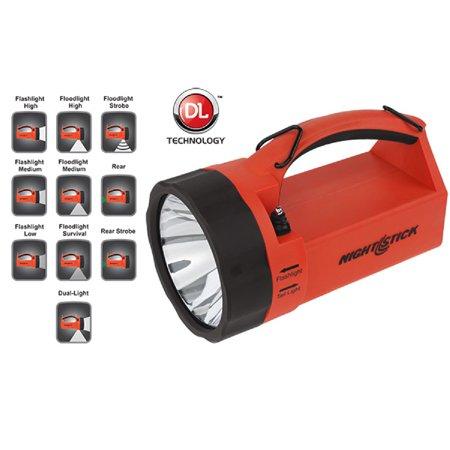 Nightstick VIRIBUS Lantern Rechargeable Red 210 Lumens