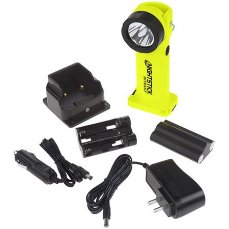 Nightstick Angle Light Rechargeable Yellow 200 Lumens