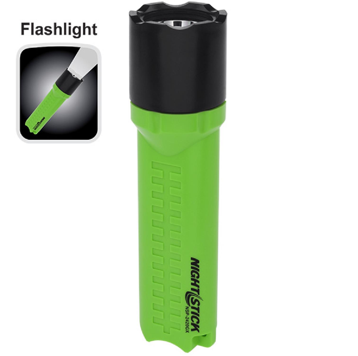 Nightstick NSP-2420GX X-Series Flashlight - 3 AA Green