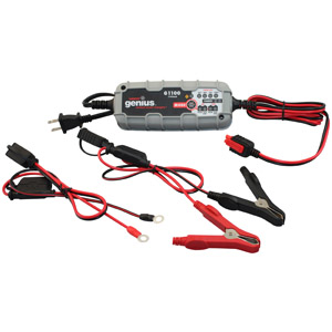 Battery Charger 1100 mA, 6V or 12V