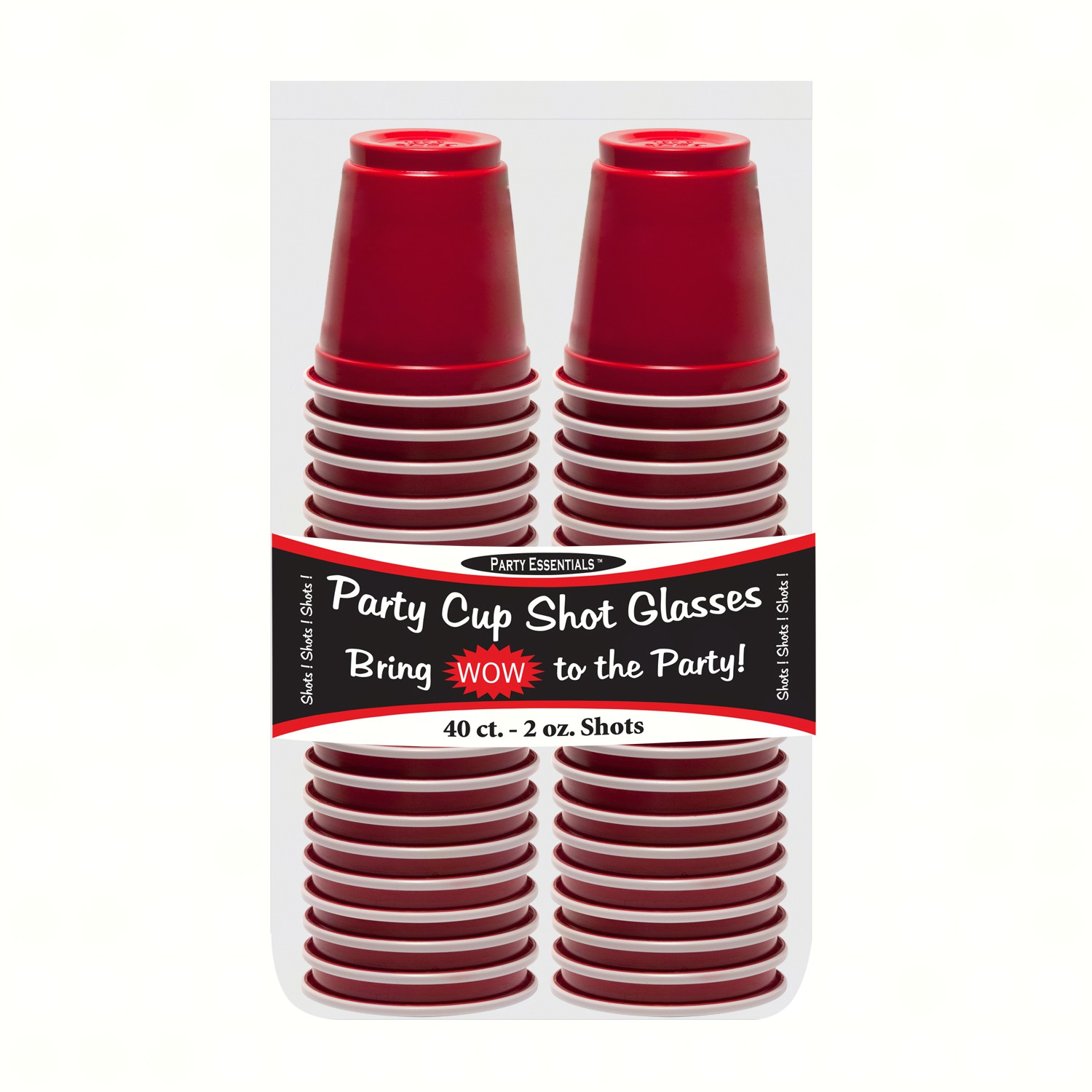 2 oz Red Party Shots