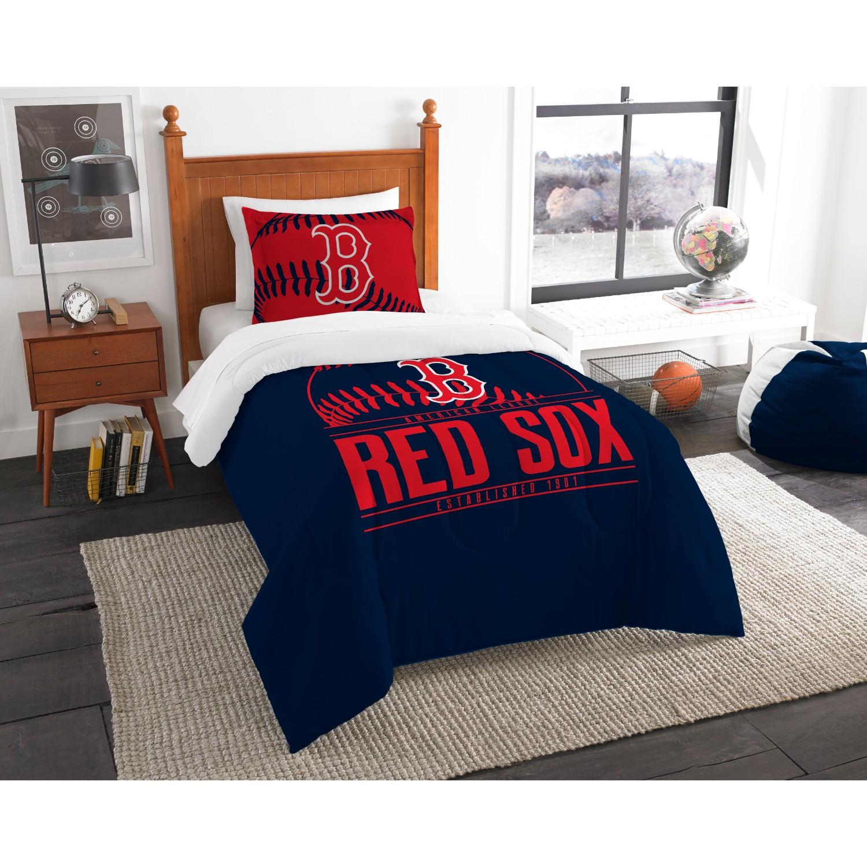 Boston Red Sox Twin Comforter Set