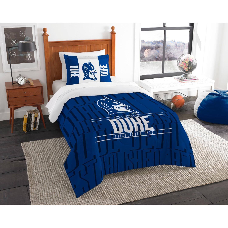Duke Blue Devils Twin Comforter Set