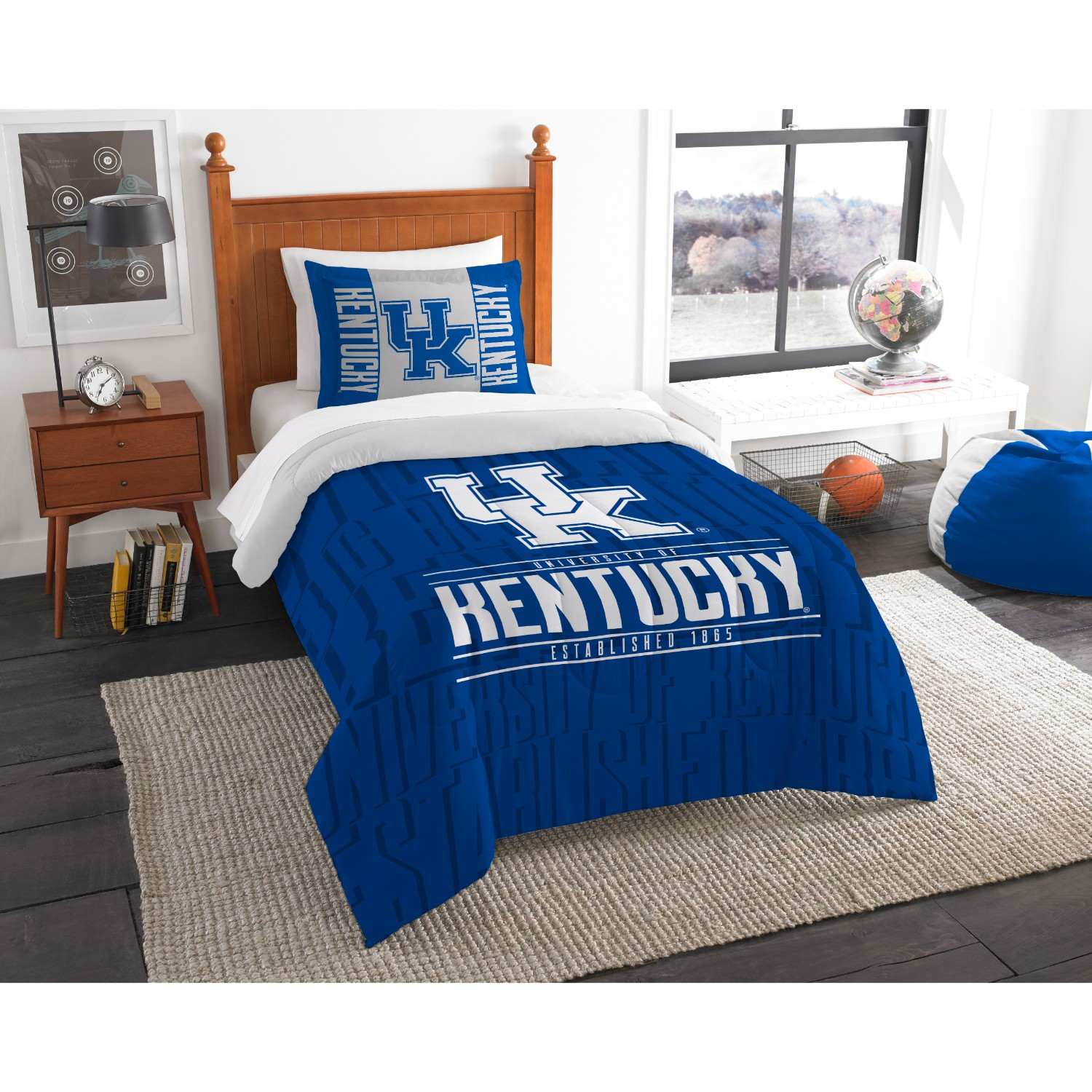 Kentucky Wildcats Twin Comforter Set