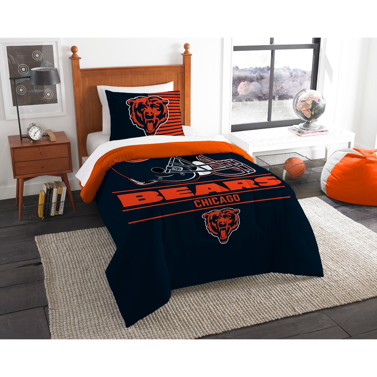 Chicago Bears Twin Comforter Set