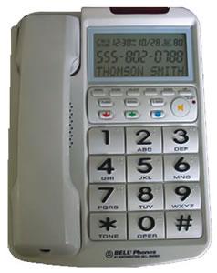 Big Button w/ Caller ID WHITE