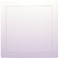 Oatey 34045 Access Panel, 8 in H x 8 in W, High Impact ABS, White