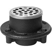 Oatey 151 Shower Drain, 1-1/2 in, NPT, Cast Iron