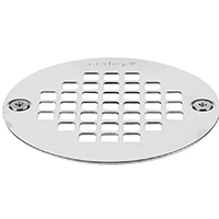 Screw-Tite 42358 Replacement Strainer, 4 in Diameter, Stainless Steel