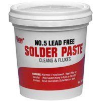 Oatey 30013 No. 5 Paste Flux, 4 oz, Solid, Yellow