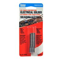 Oatey 53012 Rosin Leaded Core Solder, 0.0363 in Dia, Silvery Grey, 1 oz