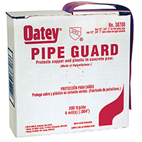 200FT POLY RED PIPE GUARD TAPE