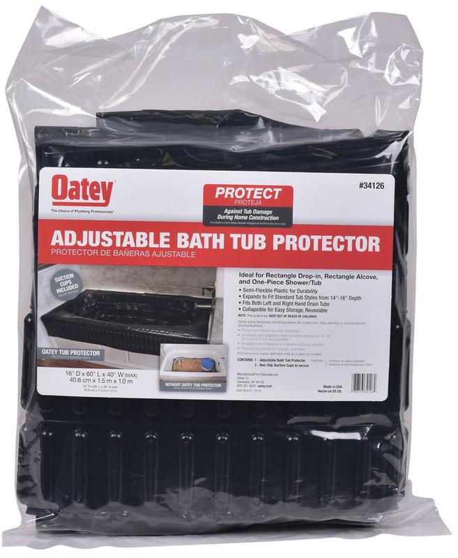 34126 BATH TUB PROTECTOR
