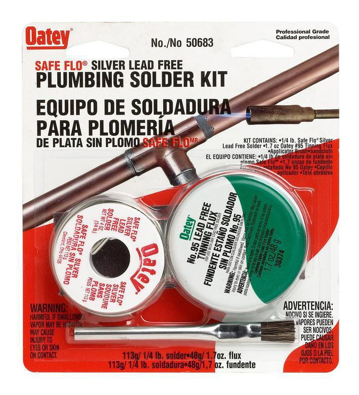 50683 SAFEFLO SILVR SOLDER KIT