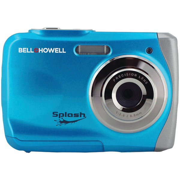 BELL & HOWELL WP7BL BLUE DIGITAL WATERPROOF CAMERA SPLASH