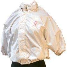SHOWER SHIRT 201026 LXLW WHITE LARGE TO XL POST MASTECTOMY