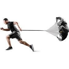 SPORTS INVASION TP48 TRAINING PARACHUTE 48 INCH FITS 20 INCH