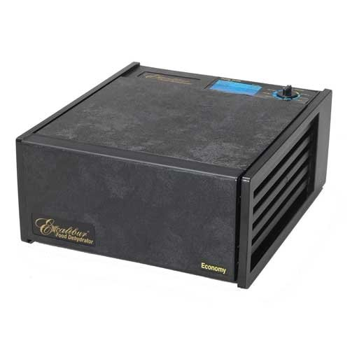 EXCALIBUR 2500ECB BLACK NON TIMER 5 TRAY DEHYDRATOR GIVES YOU