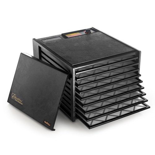 EXCALIBUR 3900B BLACK NON TIMER 9 TRAY DEHYDRATOR GIVES YOU
