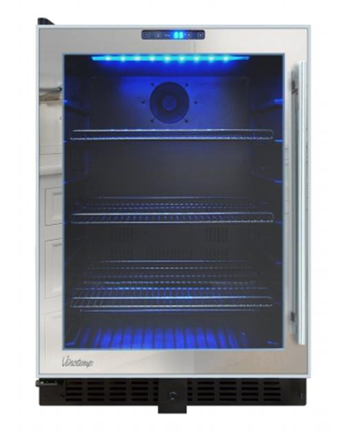 VINOTEMP VTBC54TSSML BEVERAGE COOLER MIRRORED TOUCH SCREEN