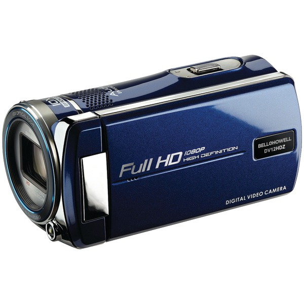 BELL & HOWELL DV12HDZBK BLACK CAMCORDER CINEMA WITH 1080P HD