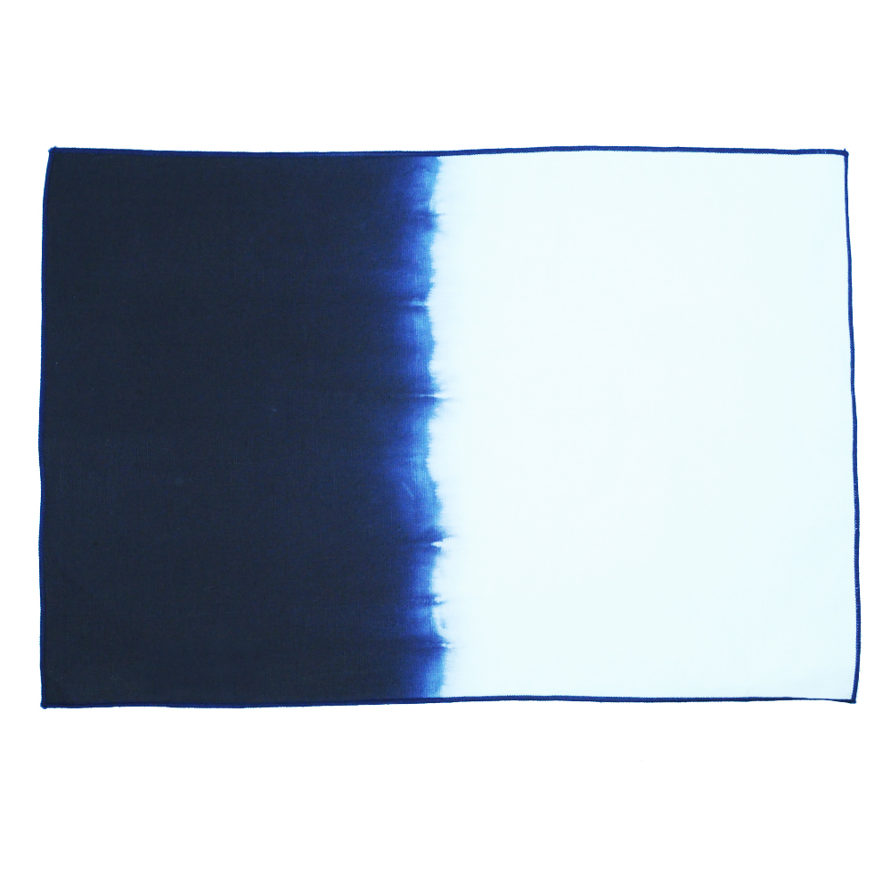 CALYZ GGPCAL0061 INDIGO OMBRE PLACEMATS SET OF 4 THE COTTON