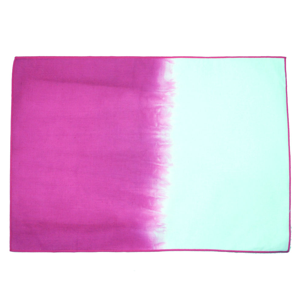 Calyz Ggpcal0062 Pink Ombre Placemats Set Of 4 Are Handmade