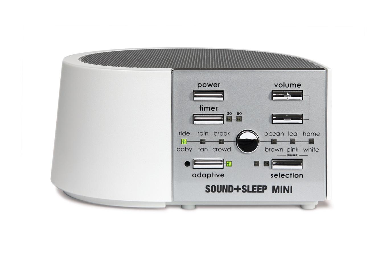 SOUND SLEEP ASM1014M WHITE SOUND THERAPY SYSTEM TRAVEL SIZE