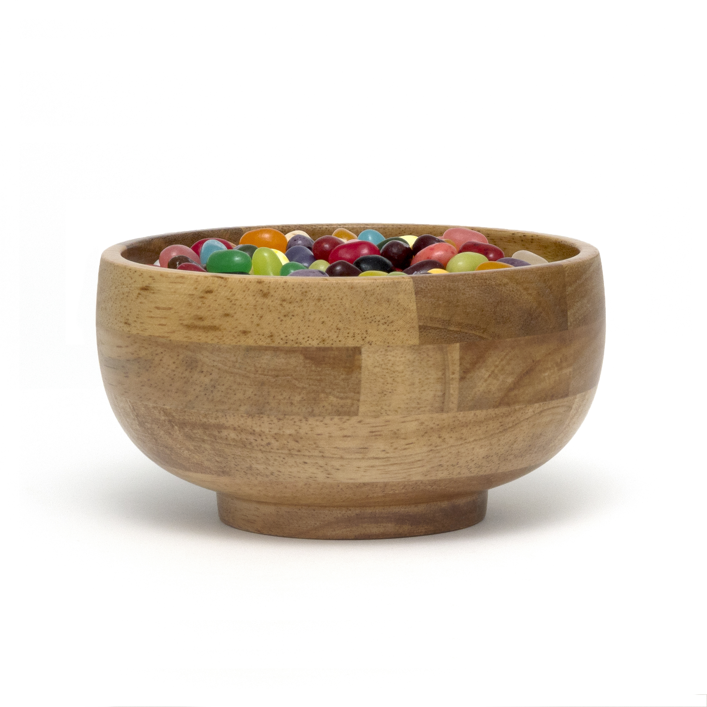 LIPPER 3234 SMALL RICE BOWL SET OF 4 WITH OAK FINISH ARE