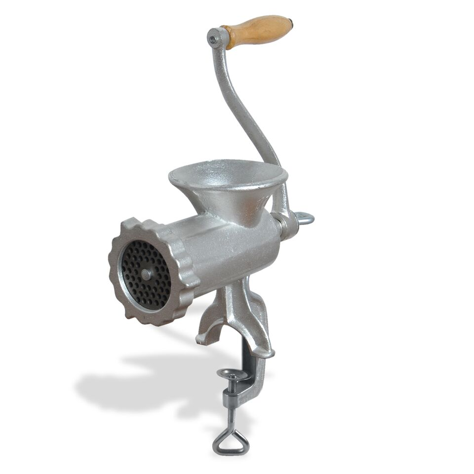 EXCALIBUR EMMG8 MANUAL MEAT GRINDER CLAMP DOWN STYLE