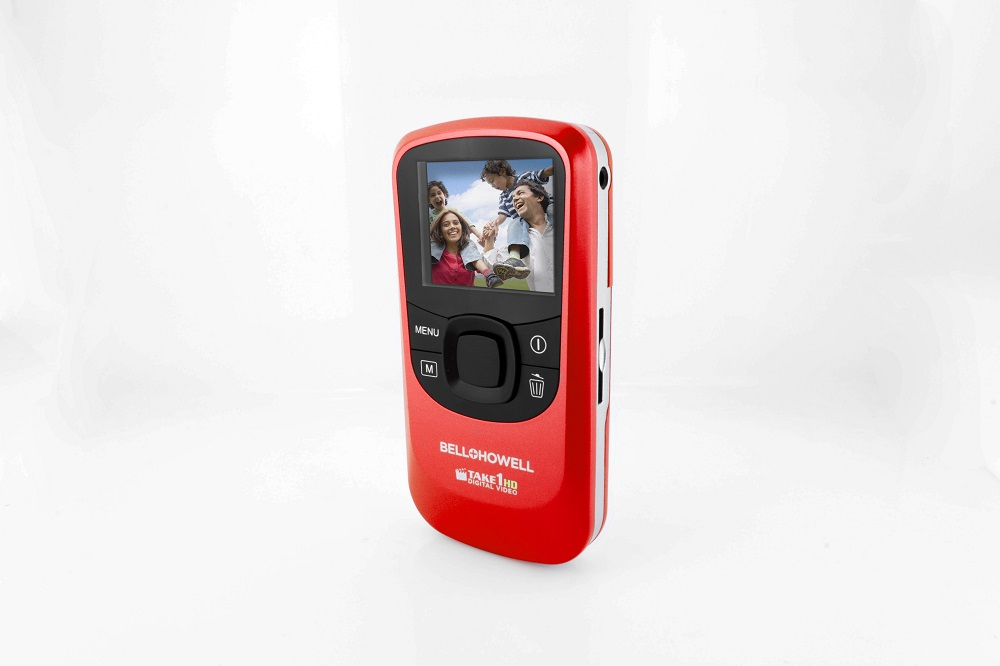 BELL+HOWELL T10HDR RED TAKE1HD DIGITAL VIDEO CAMCORDER