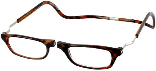 CLIC Dark Demi XXL250 BROWN READING GLASSES EXPANDABLE XXL250
