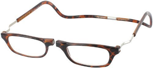 CLIC Dark Demi XXL300 BROWN READING GLASSES EXPANDABLE XXL300