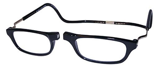 CLIC BLACK XXL350 BLACK READING GLASSES XXL350 EXPANDABLE