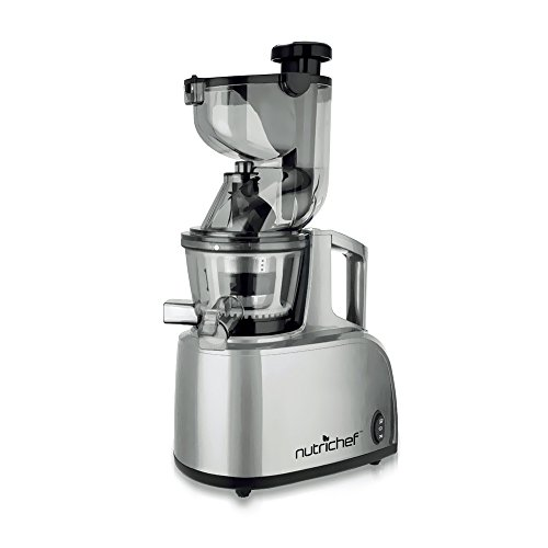 NUTRICHEF PKSJ40 SLOW MASTICATING JUICER AND DRINK MAKER