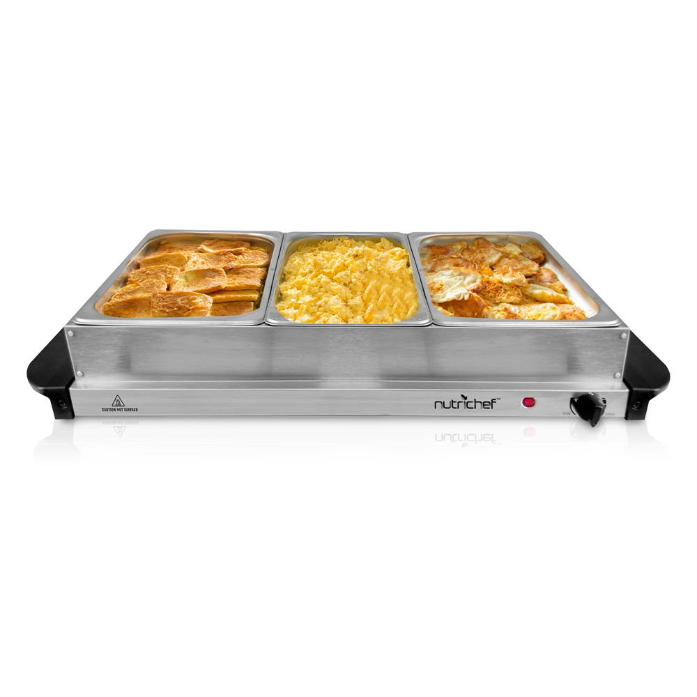 NUTRICHEF PKBFWM330 FOOD WARMING TRAY BUFFET SERVER & WARMER