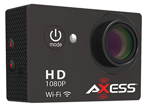 AXESS CS3605SL SILVER WATERPROOF WIFI ACTION CAM