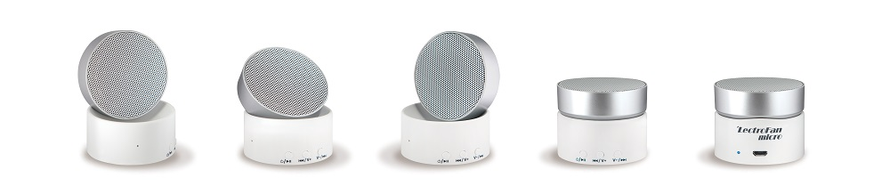 LECTROFAN ASM1017 WHITE SILVER MICRO WIRELESS THERAPY SYSTEM