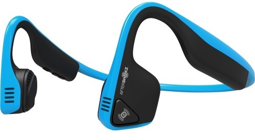 AFTERSHOKZ AS600OB BLUE HEADPHONES TREKZ TITANIUM WIRELESS