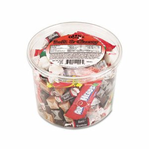 Soft & Chewy Mix, Assorted Soft Candy, 2 lb Resealable Plastic Tub