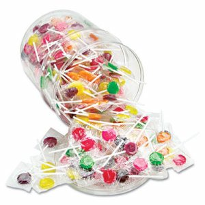 Sugar-Free Suckers, Assorted Flavors, 32oz Tub