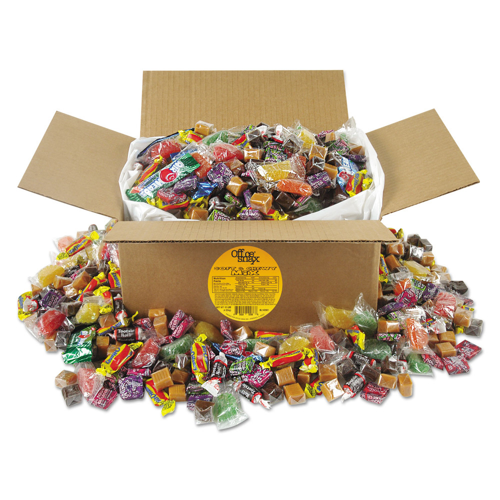 Soft & Chewy Candy Mix, 10 lb Values Size Box