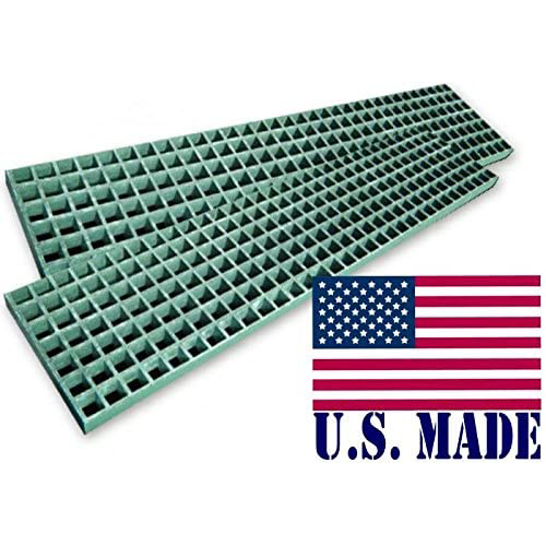 U.S. made HD WAFFLE BOARDS - FIBER GLASS 12 inch X 48 inch X 1.5 inch (Pair) (OFF-ROAD RECOVERY)