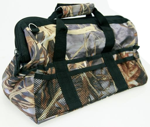 15 inch WOODS-CAMO WIDE-MOUTH RECOVERY KIT BAG (4X4 VEHICLES)