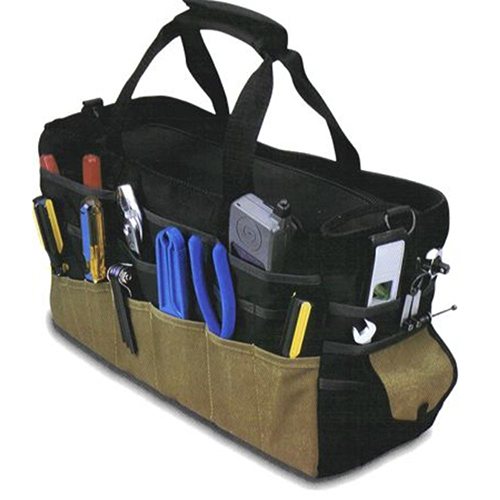 18 inch RECOVERY KIT BAG With WORK GLOVES (4X4 VEHICLES)