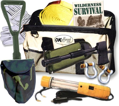HD SURVIVAL KIT (VALUE $190.00+) (OFF-ROAD RECOVERY)