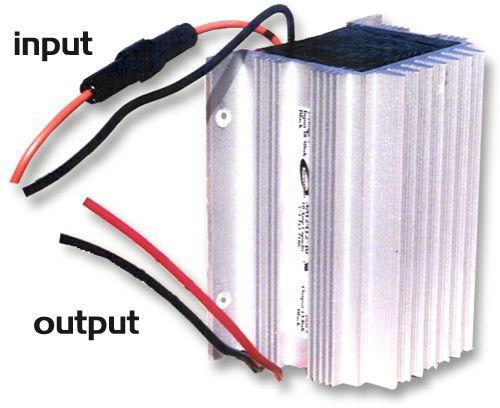 24-12 VOLT DC-DC SD CONVERTER (10 AMP) (4X4 VEHICLES)